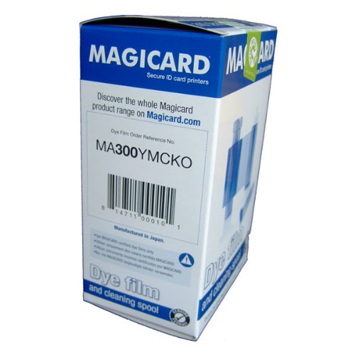 Magicard YMCKO Color Ribbon, 300 prints (Panel Color Dye Film)