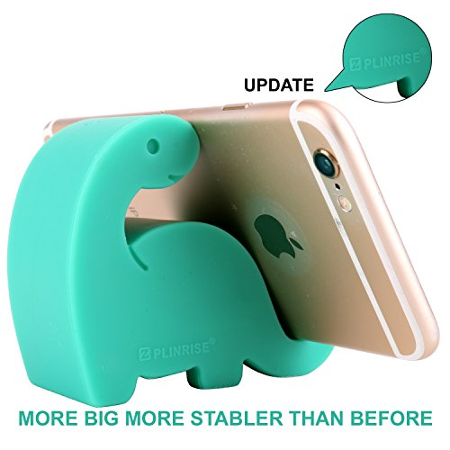 - Plinrise Animal Desk Phone Stand, Update Dinosaur Stripe Silicone Office Phone Holder, Creative Phone Tablet Stand Mounts, Size:1.3