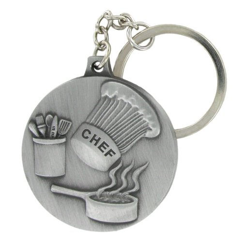 chef-culinary-arts-keychain-satin-antique-pewter-finished