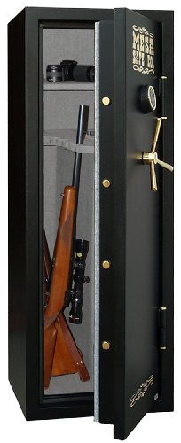 Mesa Safe Company MBF5922E 7.9 Cubic Foot 14 Rifle Gun Safe with Digital - Digital Foot Lock Cubic Safe