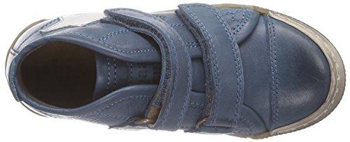 Bisgaard velcro Unisex-Kinder Kurzschaft Stiefel Blau (25 Jeans)