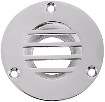 Compact 43mm Cut out Boat Floor Deck Drain Marine 316 Stainless Steel