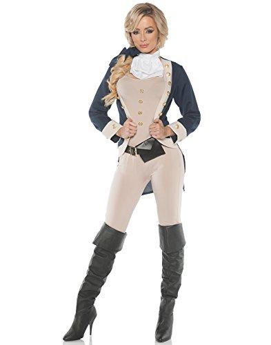 Women's Founding Father Hamilton Costume - (Women's 1800's Costumes)