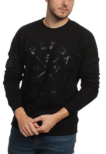 Superdry Herren Sweatshirt SURPLUS GOODS CREW Jet Black