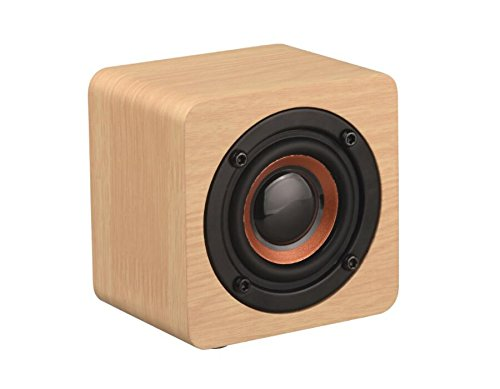 Portable Speakers Speakers Q1 Mini Wooden Bluetooth Speaker Wireless Subwoofer Strong Bass Powerful Sound Box Music Magic Cube For Smartphone Tablet Laptop Online Discount