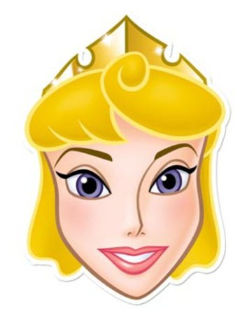Disney Princess Party - Sleeping Beauty Aurora Face Mask