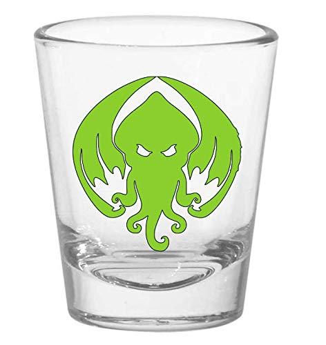 Cthulhu HP Lovecraft Elder Sign Shot Glass ()