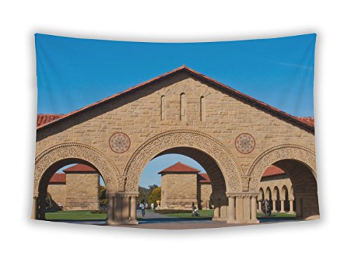 Gear New Wall Tapestry For Bedroom Hanging Art Decor College Dorm Bohemian, Some Archways Entering Stanford University Quad, - Stanford Palo Alto