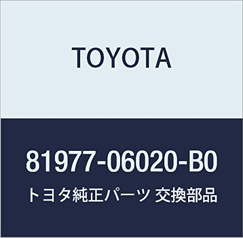 TOYOTA Genuine 81977-06020-B0 Stop Lamp Cover