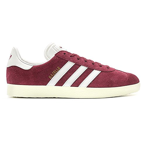Adidas Gazelle Collegiate Burgundy/White/Gold Metallic burdeos