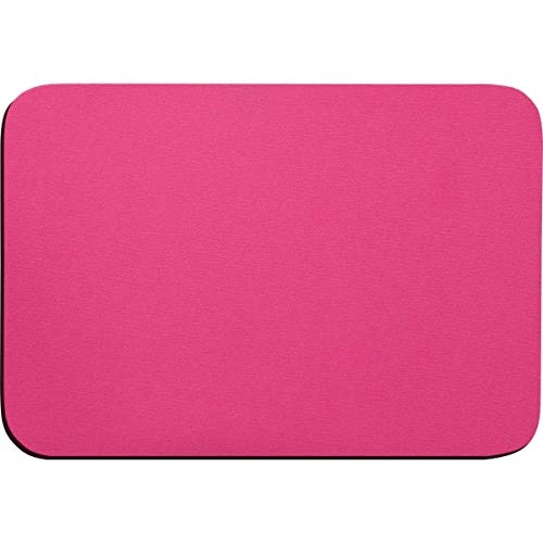 Mouse Pad Tecido Pink Emborrachado Reflex, Multicor