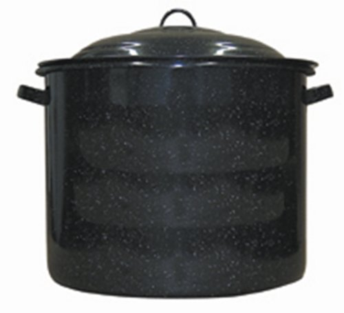 Low Carbon Steel 21-Quart Stock Pot By Granite Ware