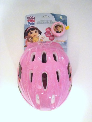 Dora Pets Helmet Value Pack - Toddler (Bell - The Dora Bicycle Explorer