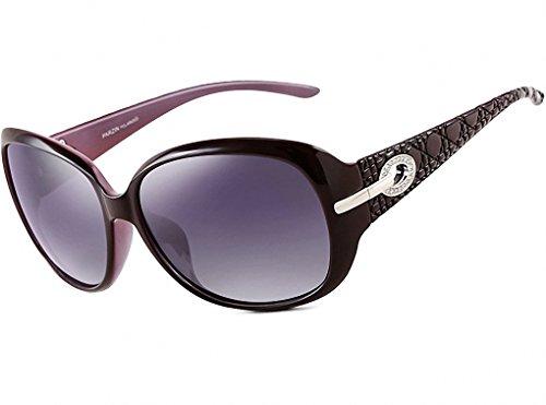 ATTCL Femmes Lunettes de Polarisées UV400 soleil Violet Vintage 17qSnd1