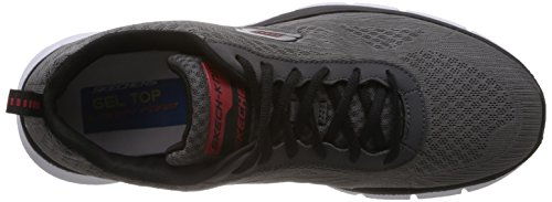 Skechers Equalizzatore Quick Reaction Herren Sneakers Grau (ccbk)