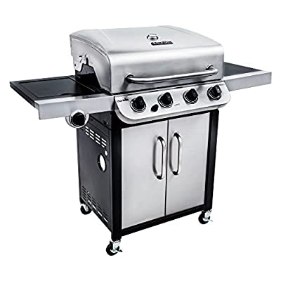 Char Broil Performance 475 4-Burner Cabinet Gas Grill