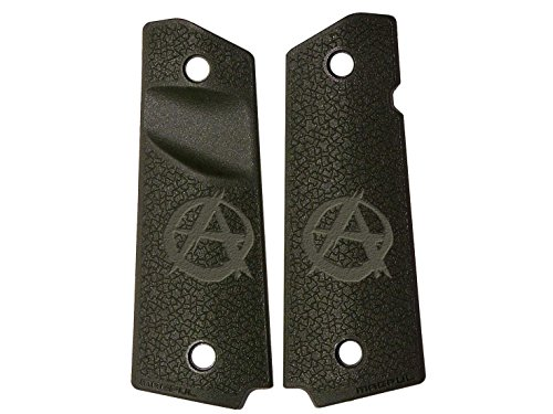 NDZ Performance for 1911 Grip Panels Magpul ODG Diamond Cross-Section MAG524 Anarchy (Anarchy Cross)
