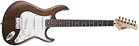 Cort G100 guitarra eléctrica Nogal Poro Abierto: Amazon.es ...