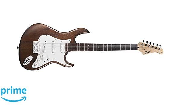 Cort G100 guitarra elÃctrica Nogal Poro Abierto: Amazon.es: Instrumentos musicales