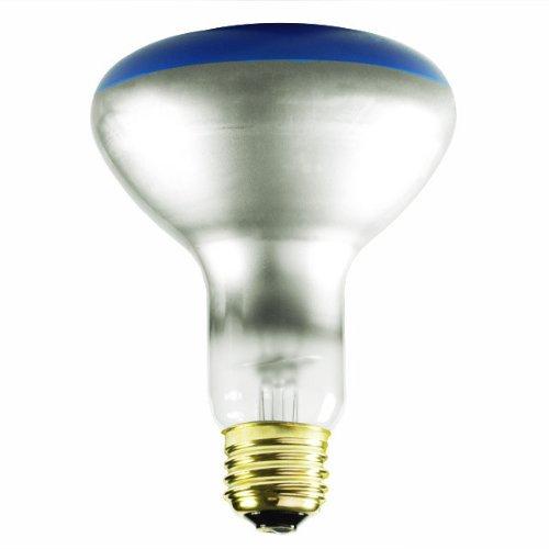 Bulbrite 75BR30B 75W BR30 Reflector 120V Wide Flood Light, Blue 75 Watt Br30 Colored Floodlight