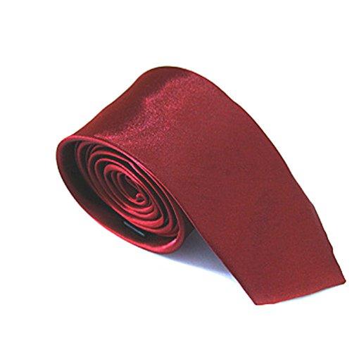 Men's Skinny Tie Solid Color 2