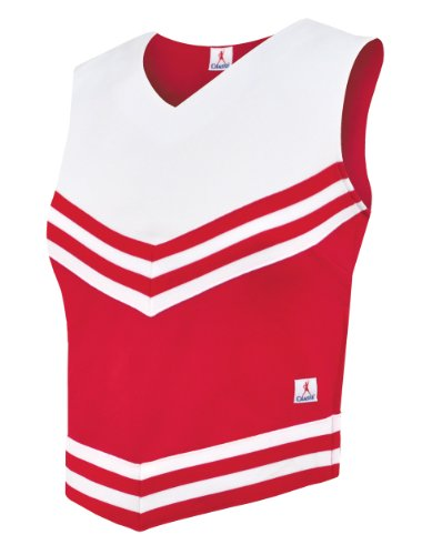 Double-Knit V-Style Cheer Uniform Top