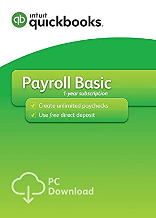 QuickBooks Desktop Basic Payroll 2017 [PC Download]