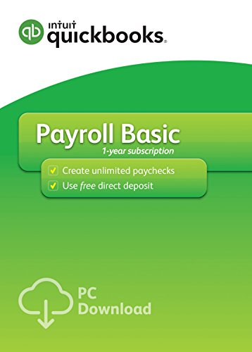QuickBooks Desktop Basic Payroll Version product image