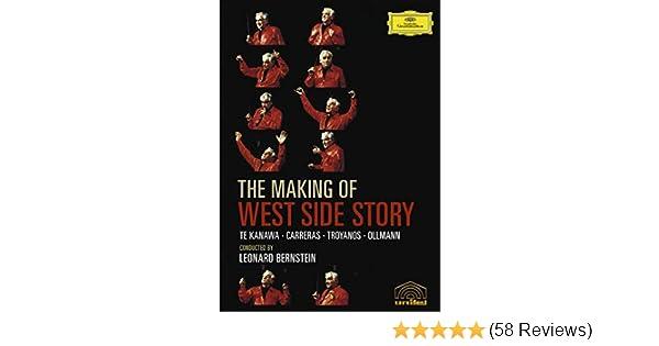 Amazon com: The Making of West Side Story - Leonard Bernstein