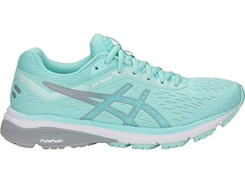 ASICS Women's GT-1000 7 Running Shoes, 5M, ICY Morning/MID Grey