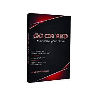 Go On Red, Natural Male Enhancing Pills, Increase Performance, Energy & Stamina, 10 Red Capsules natural male enhancing - 41dg4KV 2B1hL - natural male enhancing