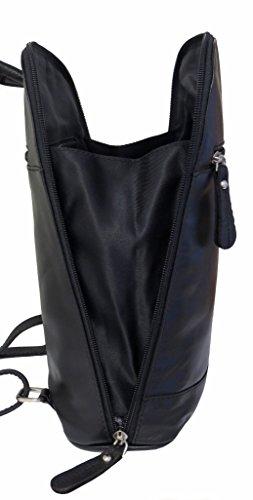 Black Rowallan Backpack Rowallan Black Women's Women's Leather w11xgq