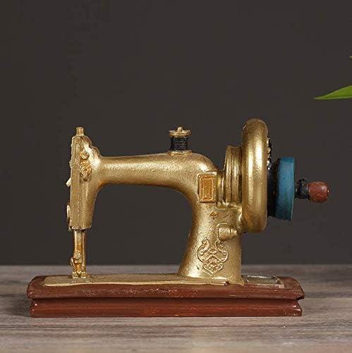 OSRAME Decoración del Hogar Joyas Creativas Cerámica Pastoralbar Vintage Antiguo Adornos Artesanales Máquina De Coser Tienda De Ropa Decoración: Amazon.es: Hogar
