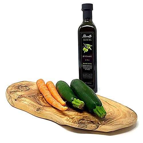 Arte Legno Spello Rustic Hand Made Olive Wood Cutting Board | Small, Medium and Large Cutting Boards Available | Hand Crafted in Italy (small 11-12'' x 5'' x 0.6'') by Arte Legno Spello (Image #3)