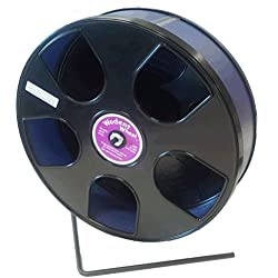 Rodent - Semi-Enclosed Exercise Wodent Wheel 'Sr.' 11 inch size Blue by Transoniq