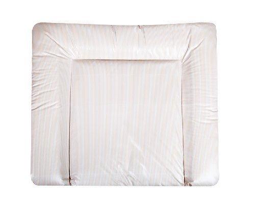 Julius Z?llner Softy 2220120101 Changing Mat Foil Stripes 75 x 85 cm Ecru Stripes by Julius Z?llner