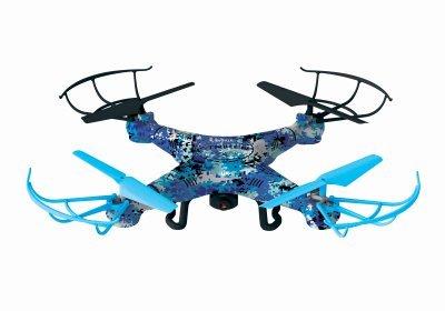 WORLD TECH TOYS Camo Striker Drone Blue [並行輸入品] B077Q7Q6DW