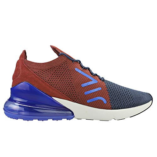 Men Flyknit Sneakers Multicolour NIKE Blue 402 Max 270 Top s Red Low Sepia Gridiron Air Thunder Xxnznd8