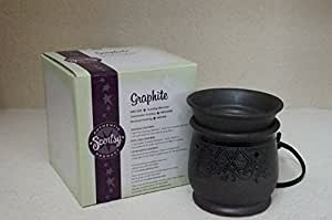 Amazon Com Scentsy Graphite Mid Size Warmer For Melting