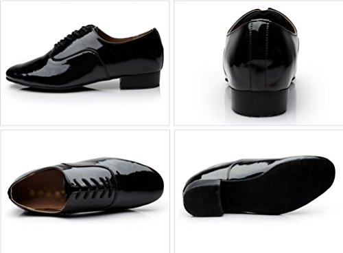 Danse de Noir de Lihaer Latine de de Chaussures Jazz Hommes Danse Chaussures Danse Fête Professionnelles Chaussures Pour Durables qTg6n4gx85