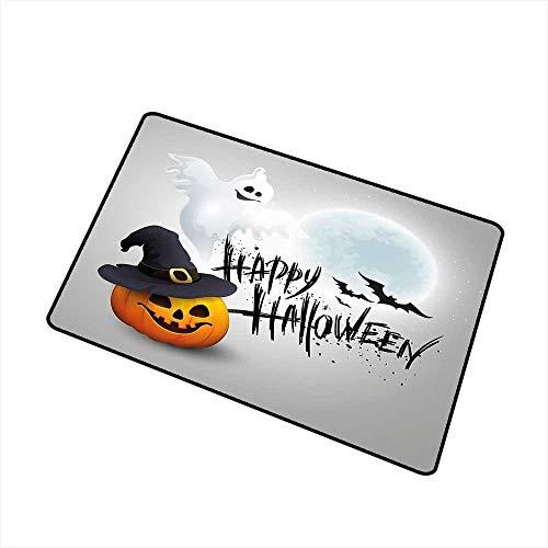 RelaxBear Halloween Universal Door mat Happy Celebration Typography