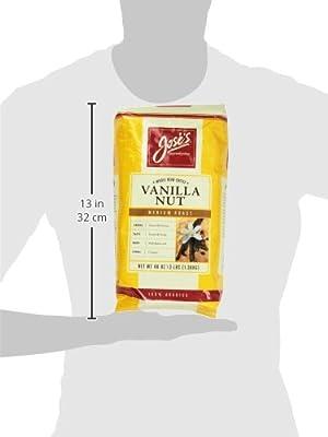 Jose's Whole Bean Coffee Vanilla Nut 3 Lbs from Jose's