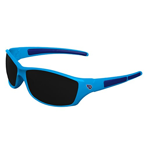 NFL Tennessee Titans Sports Fan Sunglasses, Team Color, One ()
