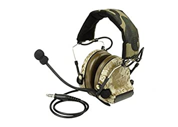 Airsoft Ztactical Zsordin Casque Micro Boom Radio Peltor Comtac 2