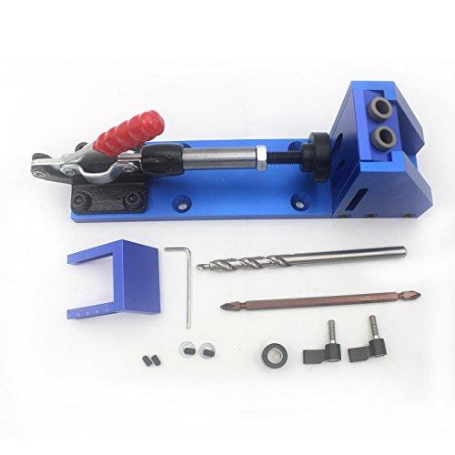 Pocket Hole Doweling Drilling Jig Kit,SINOCMP Self