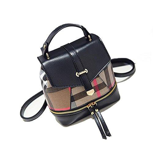 à la Sac décontracté à de femmes cuir 12 main souple dos PU mode sac multifonctionnel 20cm 18 sac en des 65A7prq5w