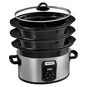 Amazon Com Crock Pot Bbq Pit Deluxe Slow Cooker Bbq