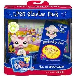 Littlest Pet Shop Online LPSO Web Game Starter Pack Mudelaine SugarSnout Pig (Littlest Pet Shop Starter Pack)
