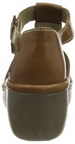 FLY London BODA633FLY - Sandalias con cuña Mujer Marrón - marrón (camel)