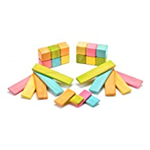 26 Piece Tegu Discovery Magnetic Wooden Block Set, Tints